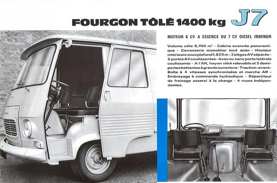 Peugeot J7 Diesel Indenor